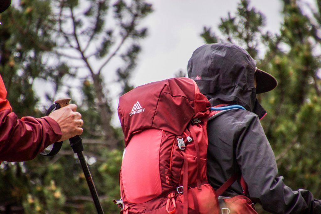 camping mochila