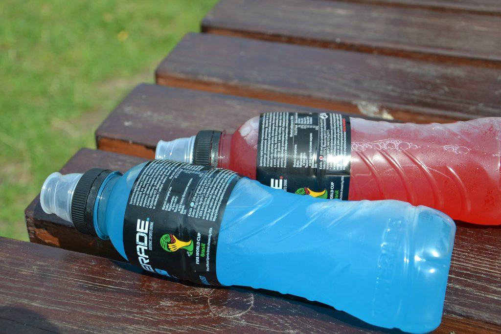 bebida de energizante