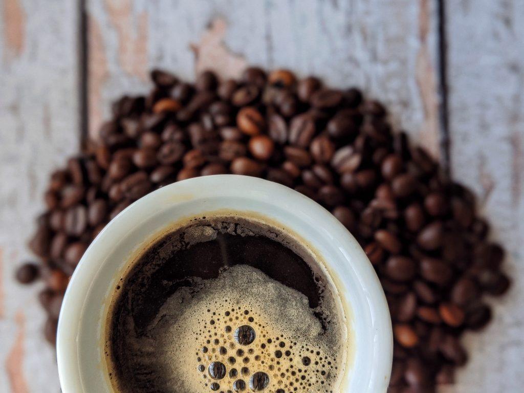 cafe en taza