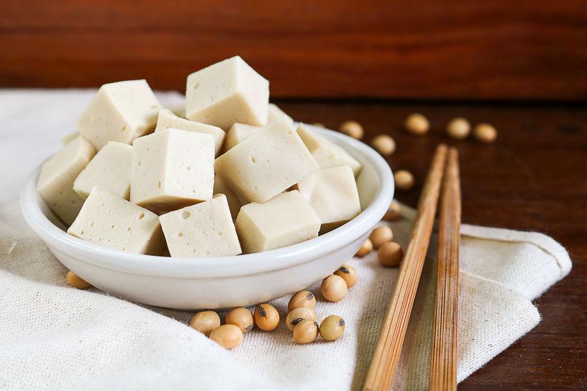 tofu y semillas