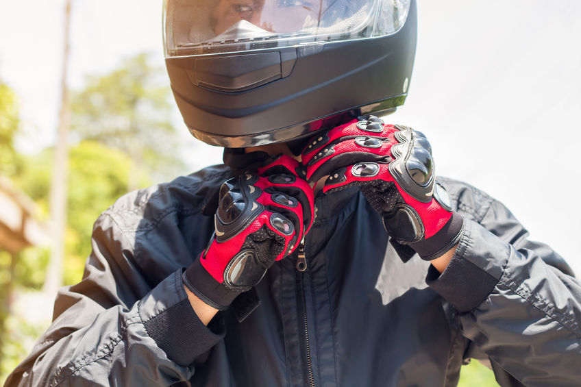 guantes de moto