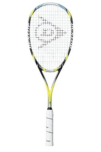 Dunlop Sports Aerogel 4D Ultimate - Raqueta de Squash, Color Amarillo y Negro, Talla única