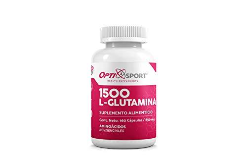 L-Glutamina 1500 con 160 caps.