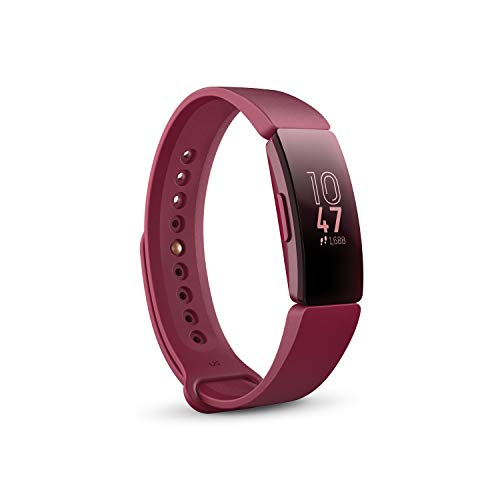 Fitbit Monitor Inspire, color Sangria