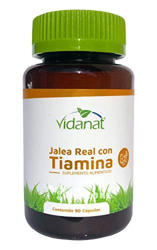 Jalea Real con Tiamina 90 Cápsulas Vidanat