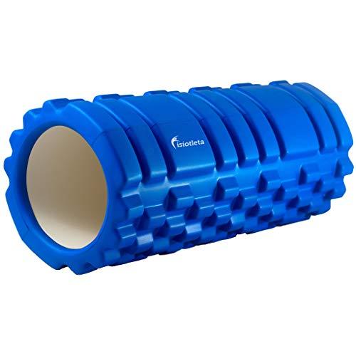 Foam Roller Masaje MIOFASCIAL Yoga Pilates Fitness (Azul)