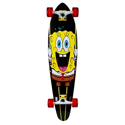 Kryptonics Spongebob 169950 - Longboard Completo (91,4 cm), Color Amarillo