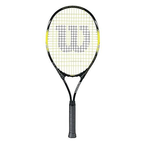 Wilson Raqueta de Tenis, Color Negro/Amarillo, Tamaño 4_3/8