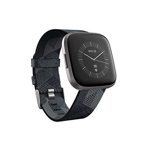Fitbit Smartwatch Versa 2 Edición Especial con Fitbit Pay - Gris/Gris Niebla