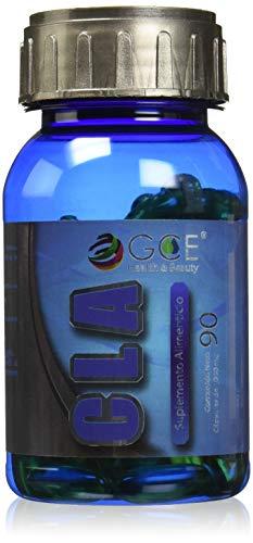 GCE CLA (Mezcla de Proteínas y Aminoácidos) Ácido Linoleico Conjugado - Suplemento Alimenticio/Nutricional Supplement (90 cápsulas de 1000 mg)