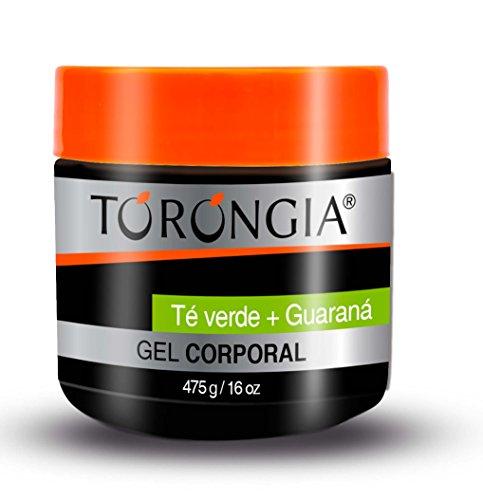 Torongia Gel Corporal Te Verde y Guarana, 475 g