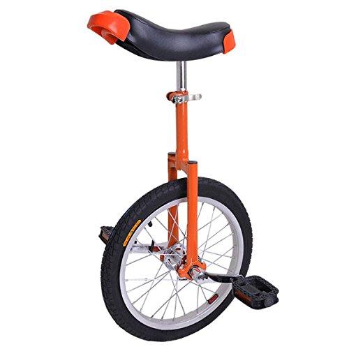 CHIMAERA - Monociclo de rueda (40,6 cm), color naranja