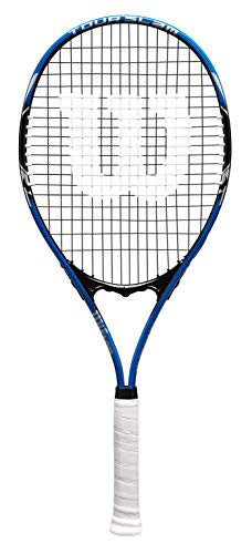 Wilson Raqueta de Tenis, Color Azul, Tamaño 4_3/8