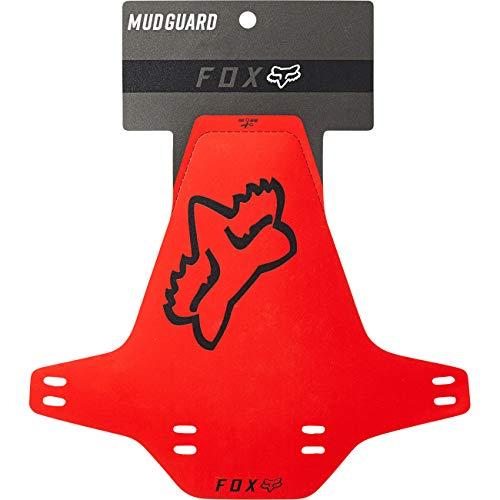 Fox Racing Guardabarros Rojo, OS