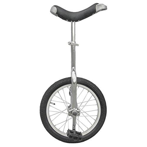 fun Monociclo Cromado de 16 Pulgadas con llanta de aleación