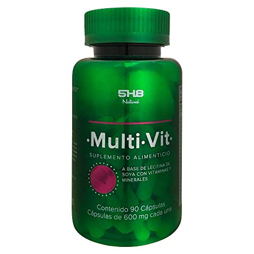 5H8 Nutrition | MultiVit 90 Cápsulas Excelente Formula Con Mezcla De Vitaminas Y Minerales | Multivitamínico