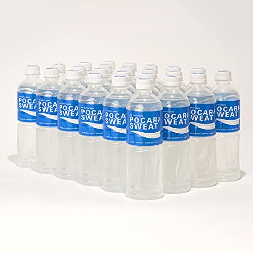 Pocari Sweat (24 pack) - Bebida Isotónica Hidratante - 100% Natural - 500 ml. - Sin Conservadores, ni Colorantes, ni Endulzantes Artificiales