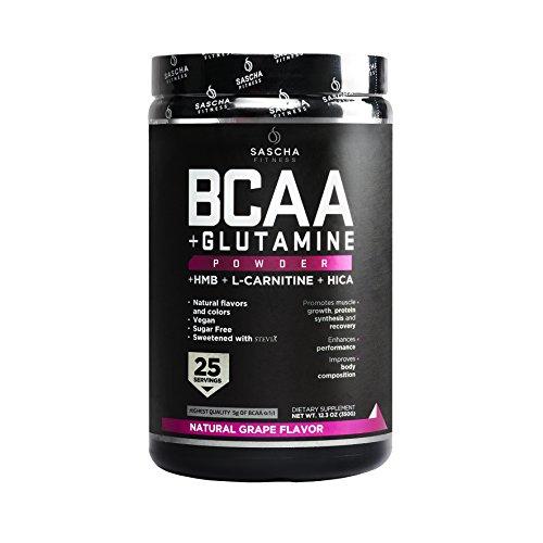 Sascha Fitness Suplementos de Proteína Bcaa Uva