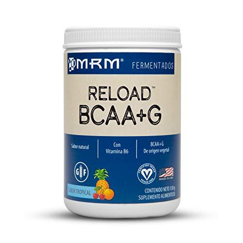 MRM Reload BCAA+G, 100% Veganos y Naturales