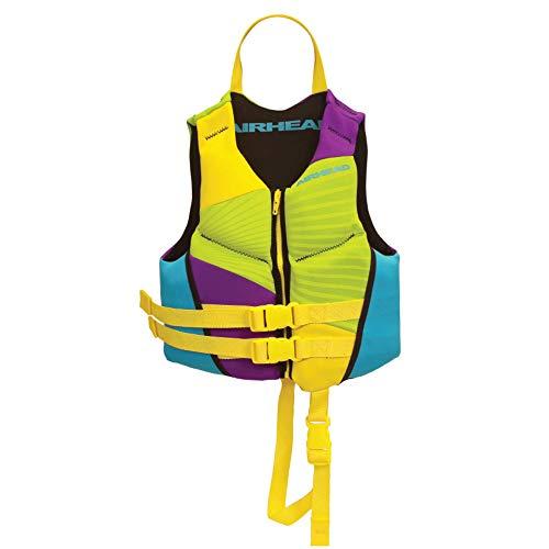 Airhead GNAR Kwik-Dry NeoLite Flex Chaleco Salvavidas para niños, Multicolor