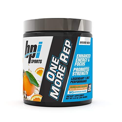BPI Sports One More Rep Pre-Workout Powder Hurricane Orange 25 ser 250 gr