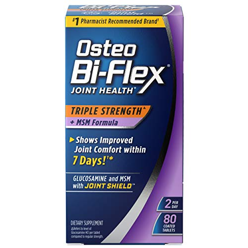 Osteo Bi-Flex Triple Strength with MSM Coated Tablets, 80 ct