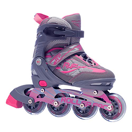 Rollerface Patines Modelo Switch 3, Color Rosa, Mediano