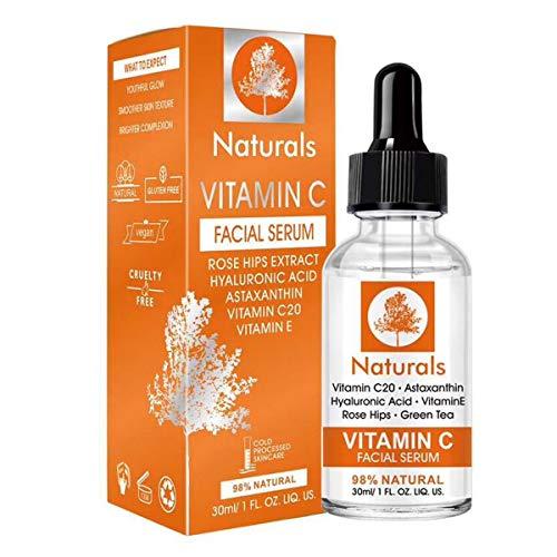 Serum Vitamina C Naturals Remueve Manchas Y Pecas Aclara y Mejora La Piel