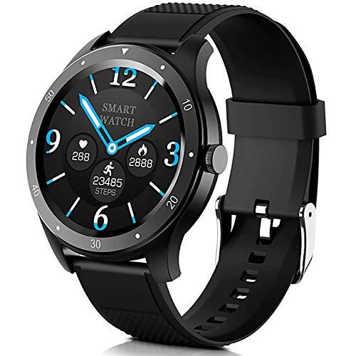 Smartwatch, MTQ Reloj Inteligente , Pulsera Actividad Impermeable IP67 monitores de actividad con Pulsómetro y Presión Arterial,Monitor de Calorías, Sueño,Podómetro,Reloj de Deporte GPS Monitor de Pasos, Reloj Deportivo Inteligente Bluetooth para niños, Mujeres y Hombres