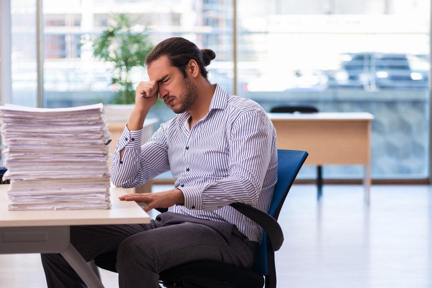cansancio mental en el trabajo