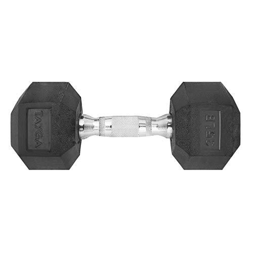 Tayga Mancuerna Hexagonal Caucho/Rubber 35 lbs
