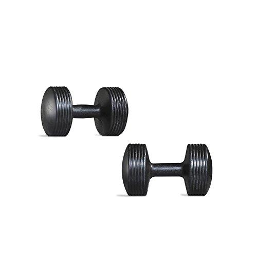 Energym - Mancuernas de Ejercicio y Fitness para Equipos de Gimnasio en casa Entrenamientos de Fuerza Peso Libres para Mujeres y Hombres de 5 kg c/u