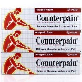 Crema de bálsamo analgésico para aliviar dolores musculares y dolor, 120 g, 3 paquetes de Zixzax