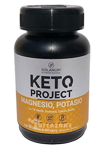 Keto Magnesio y Potasio 90 cáps de 450 mg KETO PROJECT