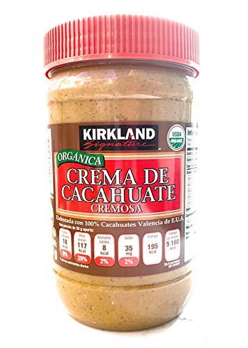 crema de cacahuate organica kirkland