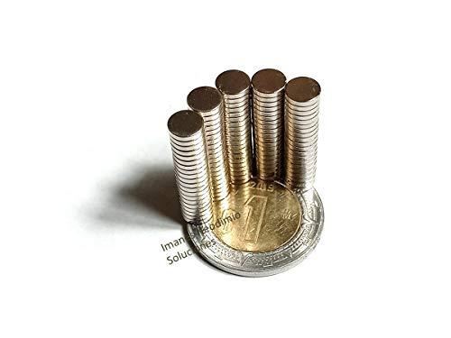 Imanes De Neodimio Circular 5mm x 1mm Potente Magneto Redondo (100)