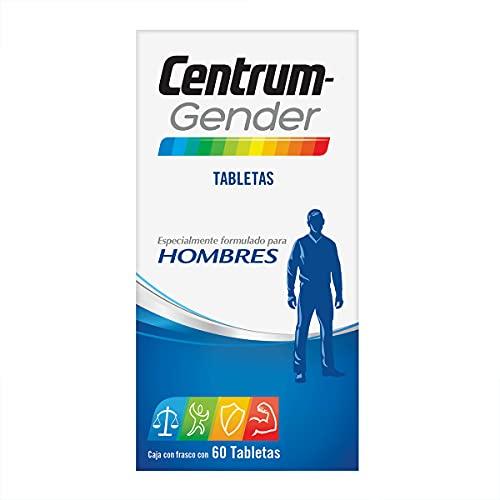 Centrum Multivitamínico Gender Hombres Frasco con 60 tabletas