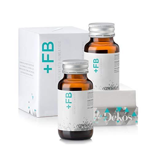 DEKÓS +FB Burner | 2 frascos con 30 cápsulas de L-Carnitina, Gymnema Sylvestre, Té Verde y Jengibre | 15 porciones c/u