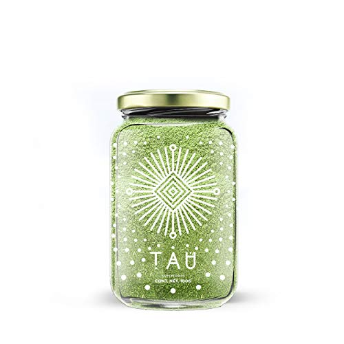 TAU Superfoods Wheatgrass 100gr en Frasco, Vegano, Natural, sin GMOs, Keto, sin Gluten