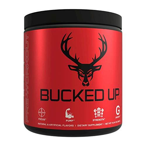 Bucked Up Pre Workout 6 gramos de citrulina, 2 gramos beta alanina y 3 otros ingredientes registrados (sandía)