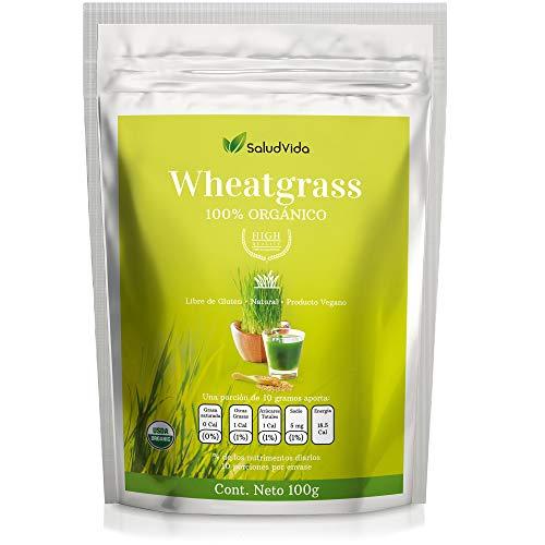 Wheatgrass (Pasto de trigo) organica (100 Gramos)
