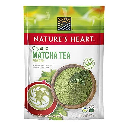 Nature's Heart Superfood Orgánico Té Verde Matcha en Polvo, 100 g