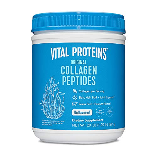 Vital Proteins Pasture-Raised, Grass-Fed Collagen Peptides (20 oz) by Vital Proteins