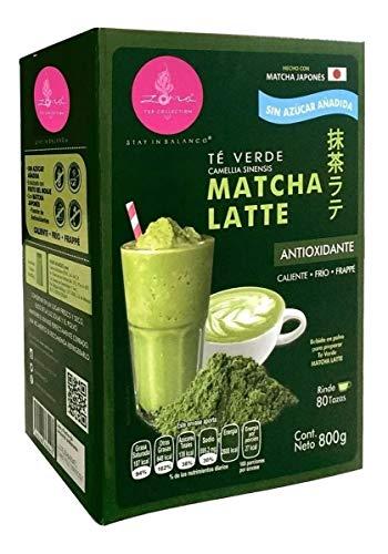 Zoma Tea té verde matcha latte 800g