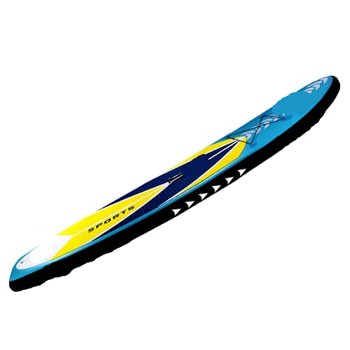 Tabla De Paddle Surf Hinchable, Tabla De Surf De Remo Remo Tabla De Remo Inflable para Adultos Surfista Paddle Remo Ajustable Tabla De Surf-320*81*15cm