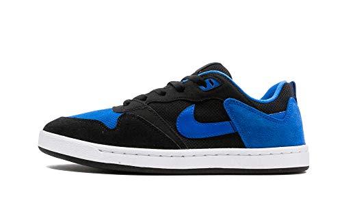 Nike Zapatillas de correr para hombre, Negro/Azul Real/Negro, 8 US