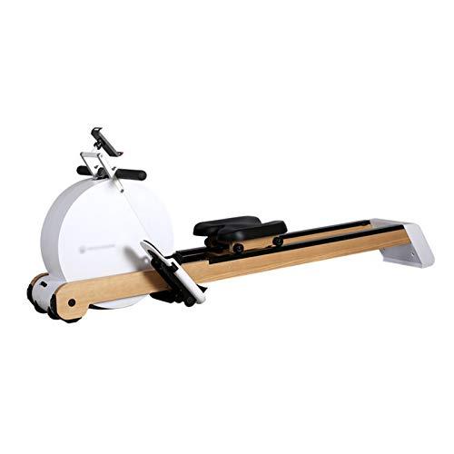 MOORRLII Máquina De Remo Plegable,Remo Indoor para El Hogar,Máquina De Remo Magnético 8 Resistencia Ajustable para Ejercicios Aeróbicos Pérdida De Peso
