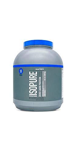 ISOPURE, Zero Carb, Proteína Whey, Sabor Vainilla, 4,5 libras