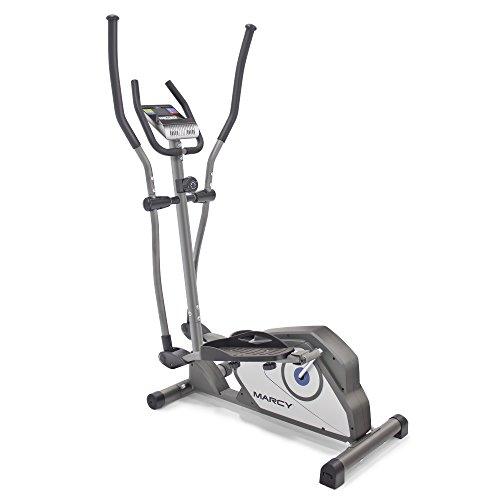 Marcy - Máquina de Entrenamiento elíptico magnético para Entrenamiento Cardiovascular, Estándar, Gris - Estándar, Una Talla
