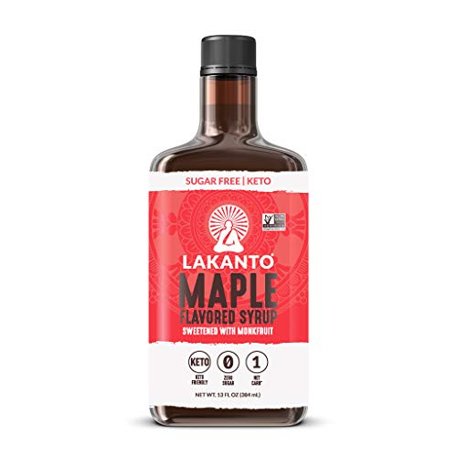 Lakanto - Maple Flavored Syrup Sweetened with Monk Fruit - 13 oz.